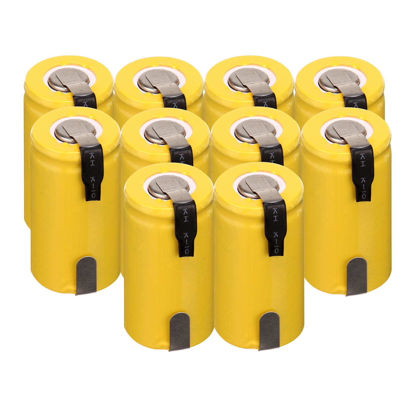 Russian Warehouse! 10pcs 1300mAh 1.2v rechargeable battery SC <font><b>ni</b></font>-<font><b>cd</b></font> nicd 1.2v battery <font><b>1.2</b></font> <font><b>v</b></font> battery <font><b>ni</b></font> <font><b>cd</b></font> image