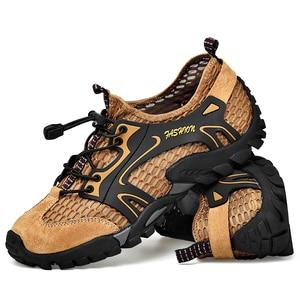 Image 5 - Big Size 39 48 Men Mountain Hiking Shoes Mesh Breathalbe Outdoor Trekking Sneakers Comfortable Climbing Shoes Men