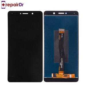 Image 4 - LCD עבור Huawei Honor 6X תצוגת מסך מגע עם מסגרת החלפת לכבוד 6X LCD bln l21 GR5 2017 LCD