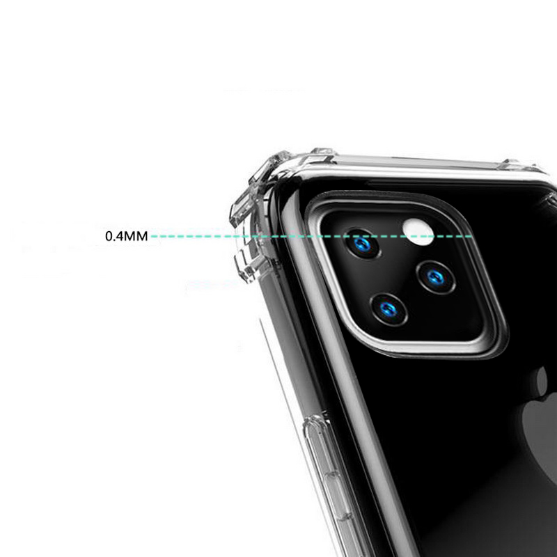 Heavy Duty Clear Case for iPhone 11/11 Pro/11 Pro Max 5