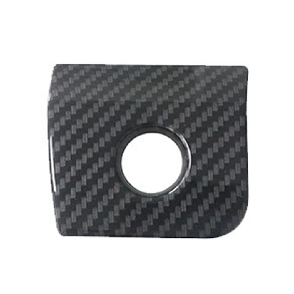 Carbon Fiber Armrest Storage Box Switch Glover Frame Cover Trim For Ford Mustang