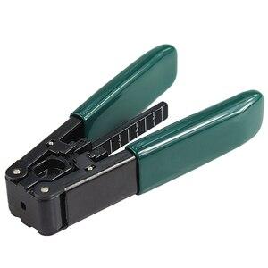 Image 5 - Free Shipping Tri hole Fiber Optic Stripper CFS 3 FTTH Cable Stripper Kevlar Scissors Cutter