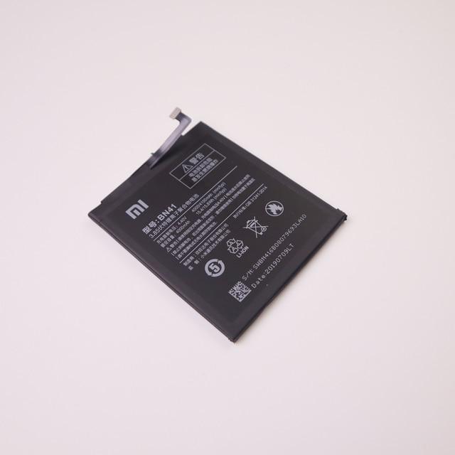 Xiaomi 100% Original Replacement Battery BN41 4100mAh for Xiaomi Redmi Note 4 MTK Helio X20 Redmi Note 4X MTK Helio X20 Bateria