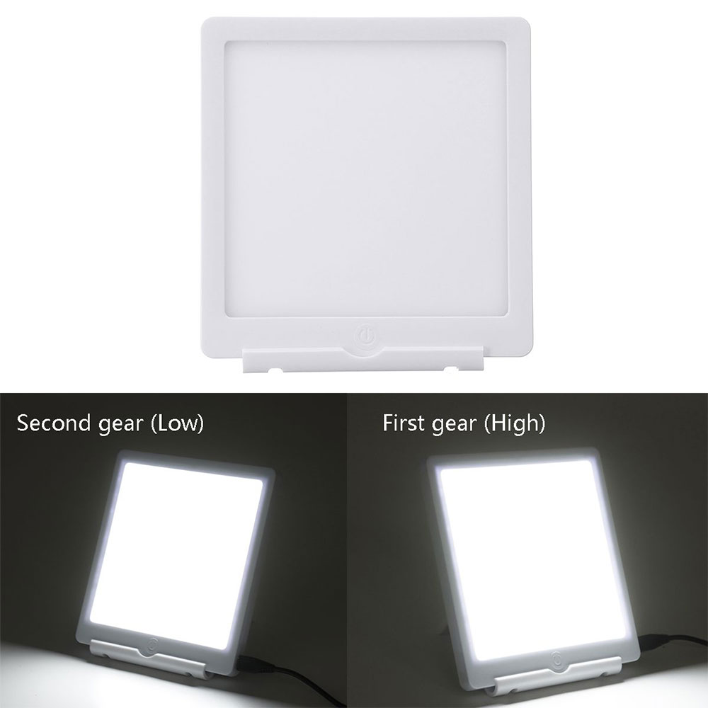 Image 4 - 5W SAD LED Phototherapy Light 10000 LUX Bionic Daylight Affective Disorder USB LED Lamp Relief Listless Fatigued Therapy LightsNight Lights   -