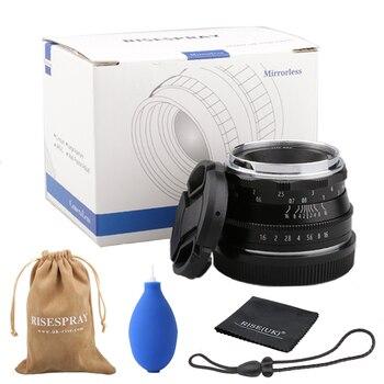 35mm F1.6 APS-C Multilayer Film Coating Mirrorless Camera Lens  for Fujifilm XT3 XT100 XT20 with Storage Bag