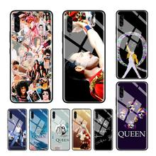 Anti Gores Phone Case untuk Samsung Galaxy A10S A20S M30S A30 A50 A70 A51 A71 J4 J6 PLUS Shell Freddie mercury Queen Band(China)