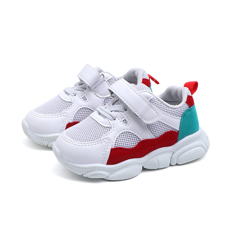 2020 Sports Children Shoes Running Cool Patchwork Girls Boys Sneakers Tennis Fashion High Quality Kids Casual Shoes