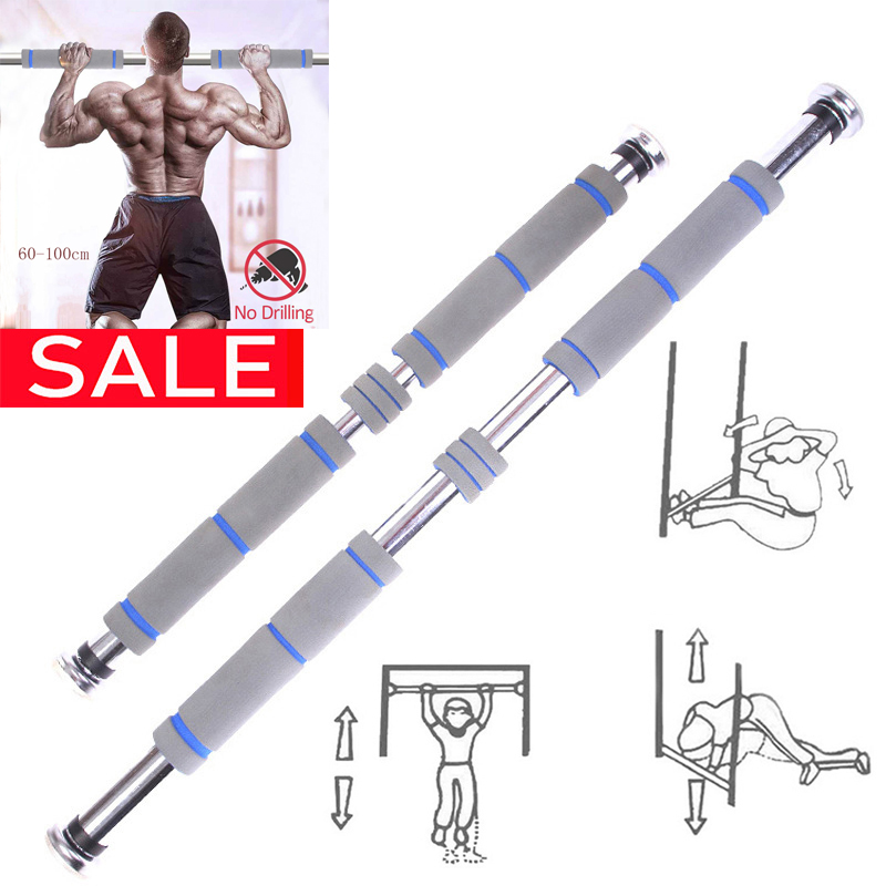 Door Pull Up Horizontal Bar Adjustable Fitness Equipment Gym Exercise Equipment Ejercicio En Casa Workout Equipment For Hom