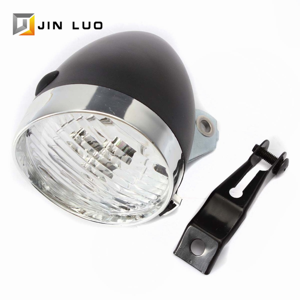 Retro Bicycle MTB Bike 3 LED Front Light Headlight Flashlight Safety Headlamp Dark Night Lamp Flash Lighting Outdoor Accessories