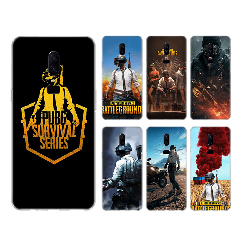 Game Pubg Heart <font><b>Silicone</b></font> Back Phone Shell <font><b>Case</b></font> For <font><b>OnePlus</b></font> 1+ One Plus 8 7T 7 Pro 6T 6 <font><b>5T</b></font> 5 Cover Coque image