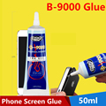 Phone Screen Glue B-9000 Glue 50ml Mobile Phone Screen Glue Warped Screen Repair Special Adhesive Sealant Waterproof Glue