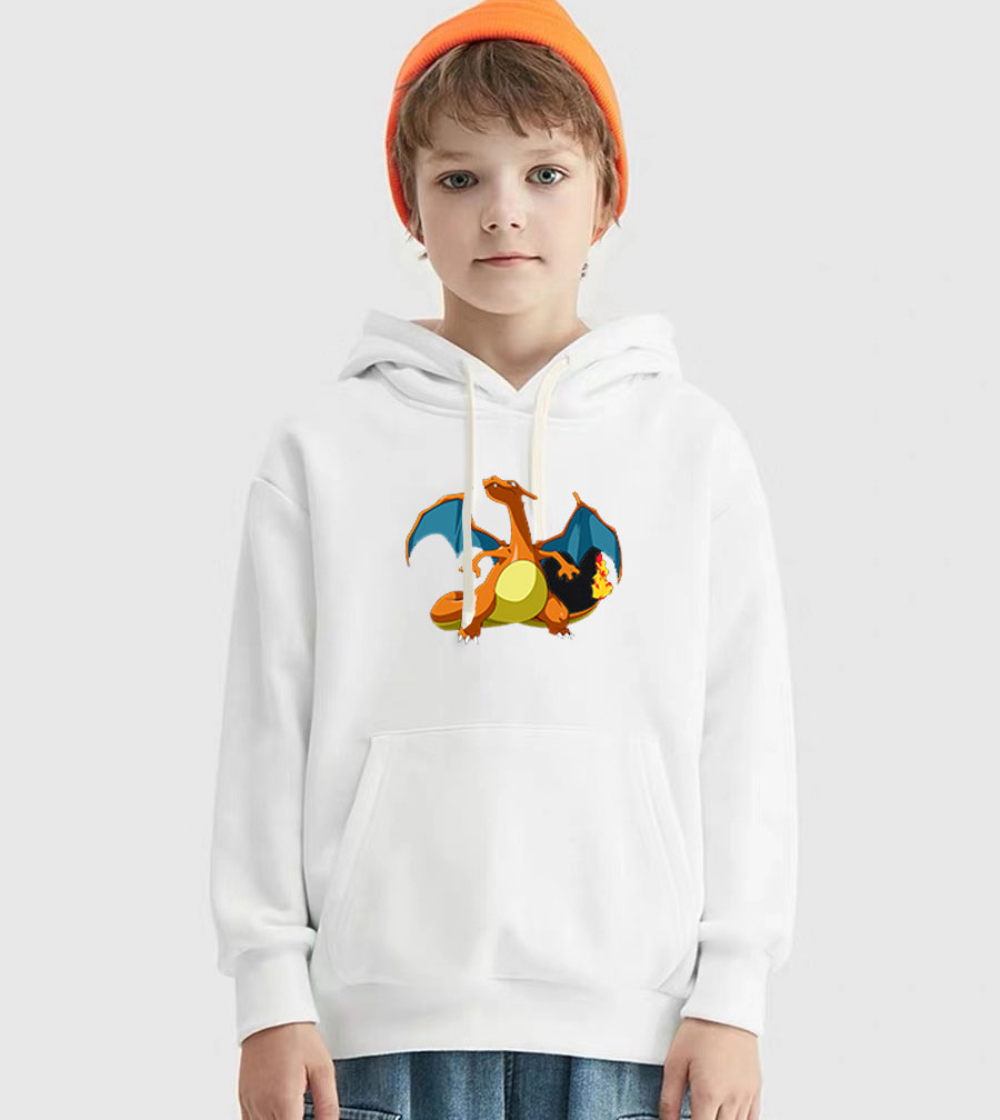 Pokemon thick hoodie set for children Autumn Winter boy girl sweater sweatshirt sports pants clothing sets 2 pieces cute 2019 fa