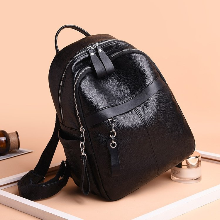 New Style Fashion Casual Versatile Elegant Trend Backpack WOMEN'S Bag Manufacturers Wholesale Foreign Trade Export 0878