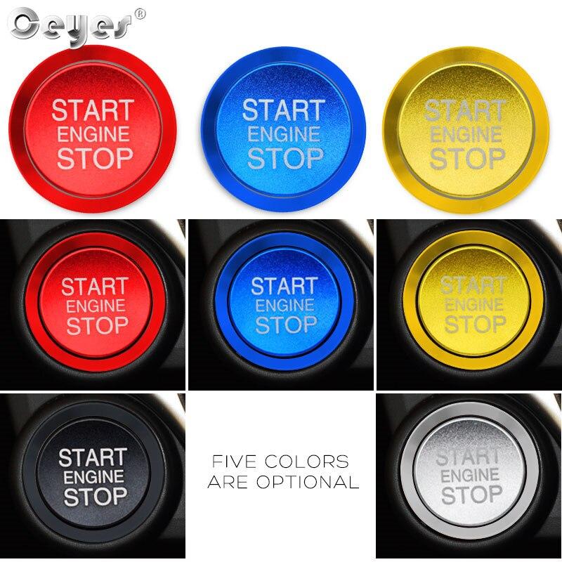 Car Start Engine Button Key Ring for ALFA ROMEO (11)