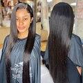 30 дюймов прямые синтетические волосы Синтетические волосы на кружеве парики из натуральных волос для Для женщин 13x4 Hd Синтетические волосы ...