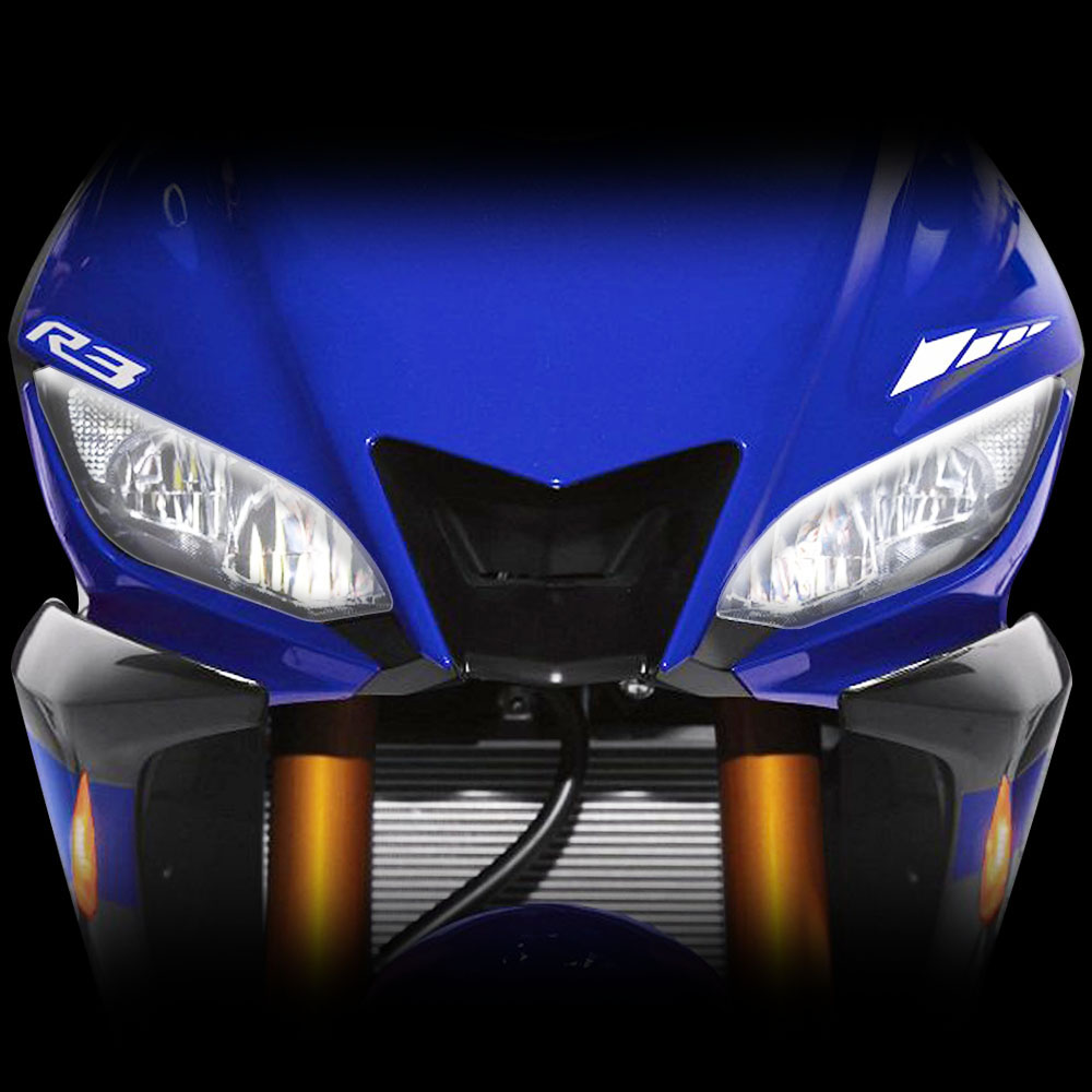 Kodaskin Motorcycle Front Headlight Lens Protection Screen Cover For YZF-R3 2019