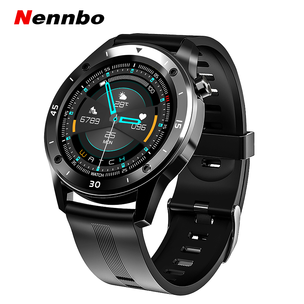 Nennbo F22 Sports Smart Watch 1 54 Inch Full Touch Screen Men Smartwatch Heart Rate Blood Pressure Fitness Tracker Watch