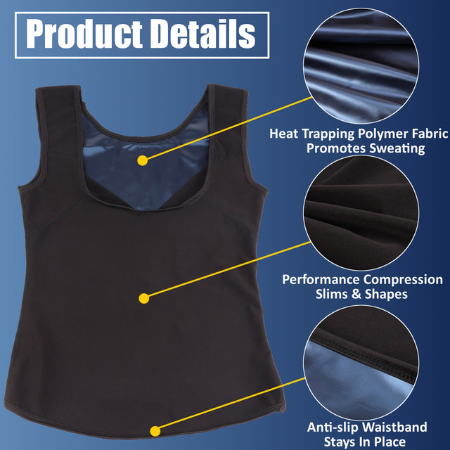 Sweat Sauna Vest Body Shapers Waist Trainer Reducing Slimming Belt Shapewear Slimming Belly Underwear Corset Women Mens Girdle 1