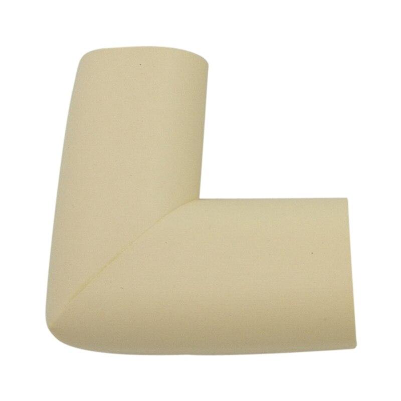 Super Elastic  Corner Cushion Corner Pad Set Of 4 / Thin Type (beige)