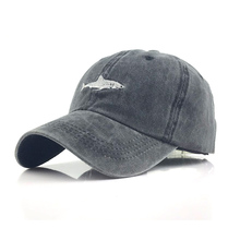Washed Cotton Men Baseball Cap Women Snapback Hat Fitted