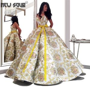 Image 1 - הכי חדש עיצוב כדור שמלת שמלת ערב לערב הסעודית 2020 תפור לפי מידה בנות מסיבת שמלת חלוק דה Soiree דובאי האסלאמי נשף שמלה