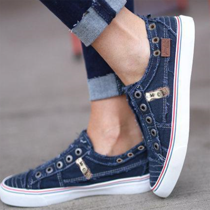 Dwayne 2019 Spring Summer Sneakers Women's Canvas Shoes Female Vulcanize Flats Denim Couple Shoes Zapatillas Mujer 658