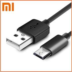 Câble de chargement rapide de câble micro USB / Type C d'origine Xiaomi pour les Smartphones Android redmi note 6 pro 5 plus 5A