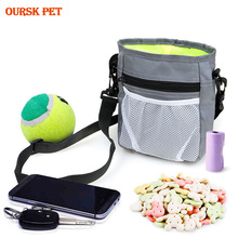 New Outdoor Pet Dog Treat Training Pouch Bag Snack Food Bag Dispenser Dog Training Belt Bags