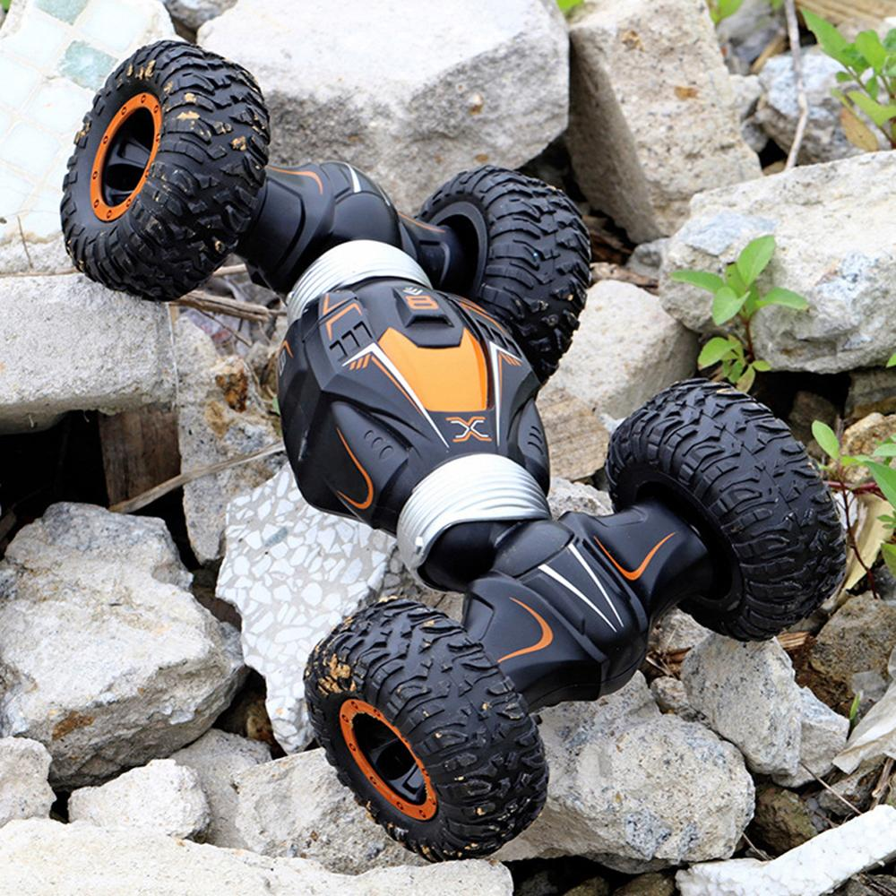 4WD High Speed RC Car 2.4GHz Radio Control Twist-Desert Stunt Cars Off Road Racing Climbing Buggy Toys For Children Gifts