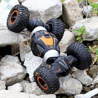 4WD High Speed RC Car 2.4GHz Radio Control Twist Desert Stunt Cars Off Road Racing Climbing Buggy Toys For Children Gifts