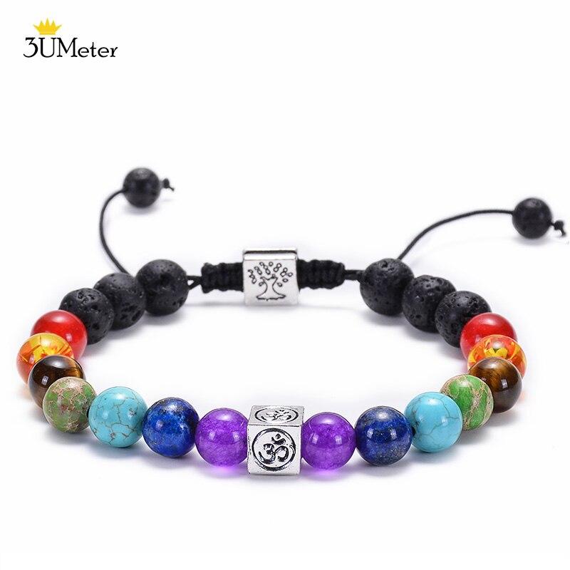 OM Chakra bracelet
