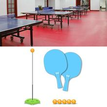 Table Tennis Trainer Set Family Activities Healthy Exercise Table Tennis Trainer Ping Pong Balls For Family Friends Entertainmen