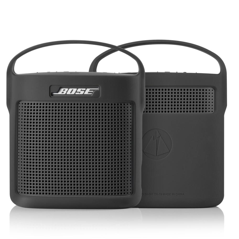 2020 Newest Protective Silicone Cover Case for Bose SoundLink Color II 2 Bluetooth Speaker Outdoor Shockproof Case Cover Handbag
