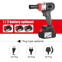 Impact-Wrench Quick-Chuck Torque Brushless-Motor Fast-Charger Cordless 980nm with 1/2