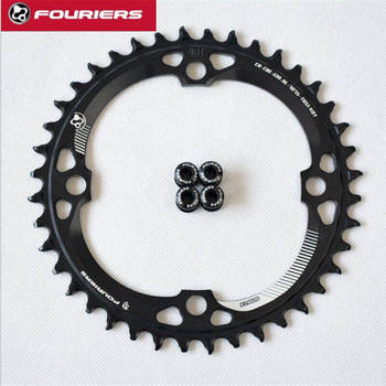 FOURIERS 120BCD Round Shape Narrow Wide Chainring 36T/38T/40T MTB Bicycle Chainwheel Bike Crankset Bicycle Parts image