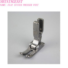 flat pressing Foot Feet Presser Domestic Sewing Machine  Janome Brother Singer Accessories Industrial single needle 1002 62pcs mini sewing machine presser foot feet for brother singer janome presser feet braiding blind stitch darning accessories