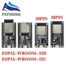 10 قطعة ESP32 مجلس التنمية WiFi + بلوتوث منخفضة للغاية استهلاك الطاقة ثنائي النواة ESP 32 ESP 32S مماثلة ESP8266 مجلس