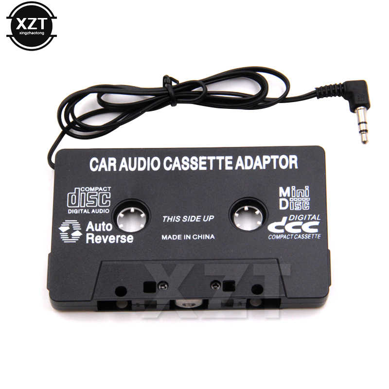 Auto Cassette Speler Tape Adapter Cassette Mp3 Speler Converter Voor Ipod Voor Iphone MP3 Aux Kabel Cd-speler 3.5 Mm jack