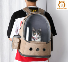 Cat Carrier Bag Space Pet Backpack Breathable Portable Cat Bag Outdoor Travel Backpack For Cat Dog Double Shoulder New