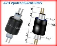 A2H 2 Way 30A Mercury Slip Ring Mercury Rotary Joint Mercury Conductive Ring Mercury Collector Ring
