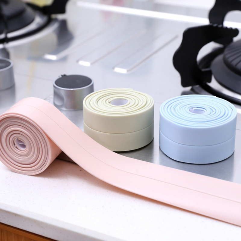 Mildew Tape Kitchen Gap Seal Waterproof Strip Bathroom Corner Gap Sticker Household Merchandises