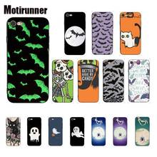 Motirunner Bat Ghost Spider Halloween Silicone Phone Case Cover For IPhone 8 7 6 6S 6Plus X XS MAX 5 5S SE XR Cover 11 Pro Max motirunner and white moon creative silicone phone case cover for iphone 8 7 6 6s 6plus x xs max 5 5s se xr 10 11 pro max