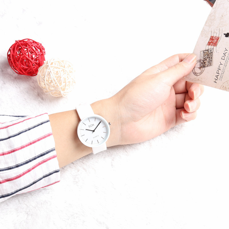 Relogio Feminino Women Watches Fashion Creative Silicone Ladeis Watch Quartz Wrist Bracelet Watches For Women Clock Gifts 2019