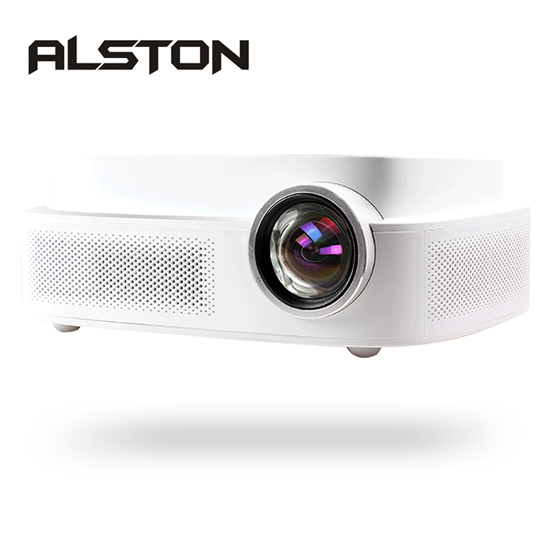 ALSTON Q7 full hd led projector 4k HDMI USB AV 1080p portable cinema Proyector Beamer