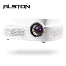 ALSTON Q7 full hd светодиодный проектор 4k HDMI USB AV 1080p портативный проектор для кинотеатра