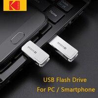KODAK K223C Mini USB Flash Drive Pendrives metálicos USB3.1 tipo-C 128 32GB 64GB usb Dual OTG palo para PC/Macbook/smartphone