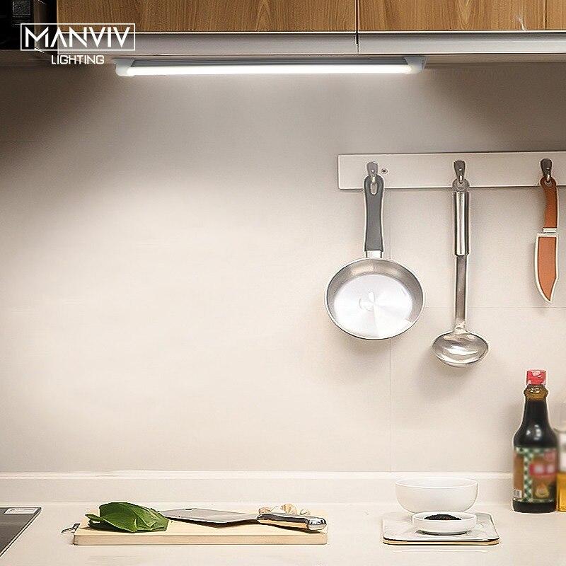 5V LED Tube USB Cabinet LED Light Kitchen Decorate Lamp 18/35/52cm Cocina Light Bedroom Wardrobes Drawer Reading Eye Protection