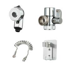 Stainless Steel Bathroom Hand Bidet Sprayer Set Faucet Sprayer External Shower Nozzle Bathroom Tools