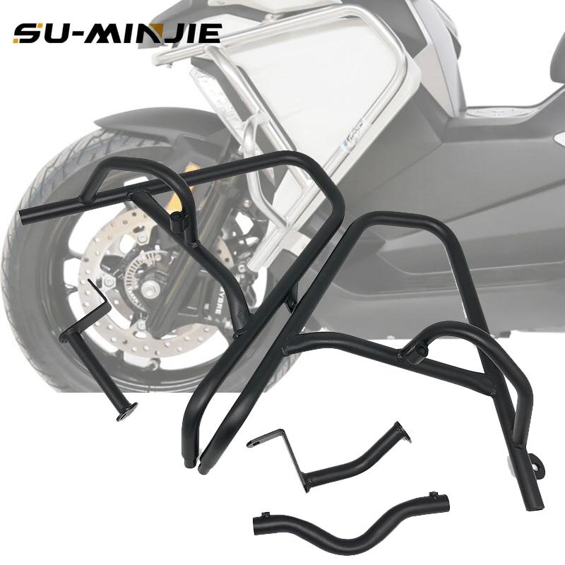 Worldmotop Motorcycle Engine Guard Highway Crash Bars fits for BMW C400X C400 X 2019 2020,Bumper Crash Bar Protector Engine Guard black