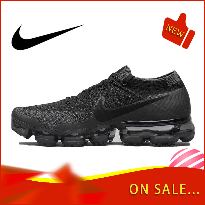 Original Authentic Nike Air VaporMax Be True Flyknit Men's Running Shoes Outdoor Sports Shoes Classic Breathable 849558-601